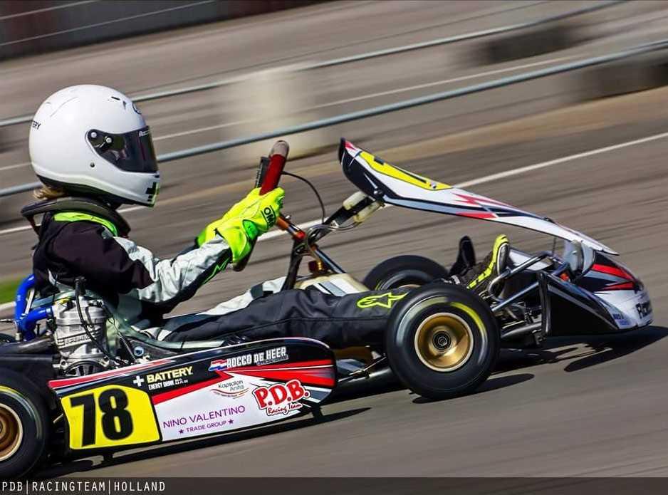 Spannende races Rocco de Heer in Genk