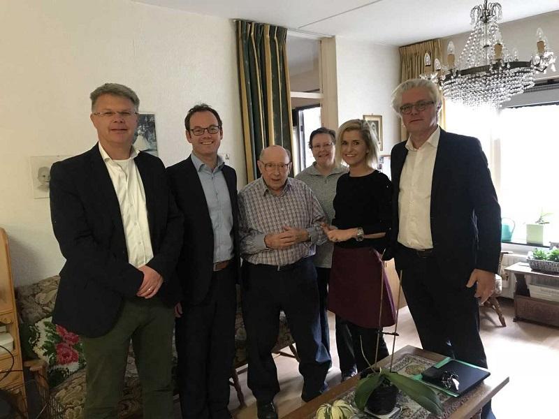 Leerzaam werkbezoek wethouders en Maasdelta aan Argos Zorggroep