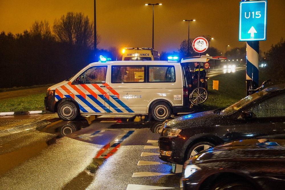 Aanrijding tussen fietser en auto in Maassluis