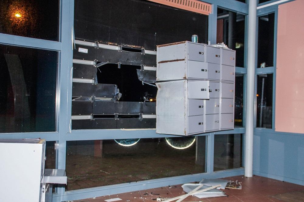 Ravage in portiek door zwaar vuurwerk
