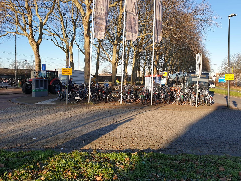 Fietsenrek metrostation Maassluis Centrum wordt verplaatst