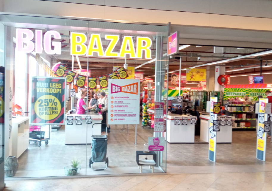 Big Bazar maakt plaats voor Xenos