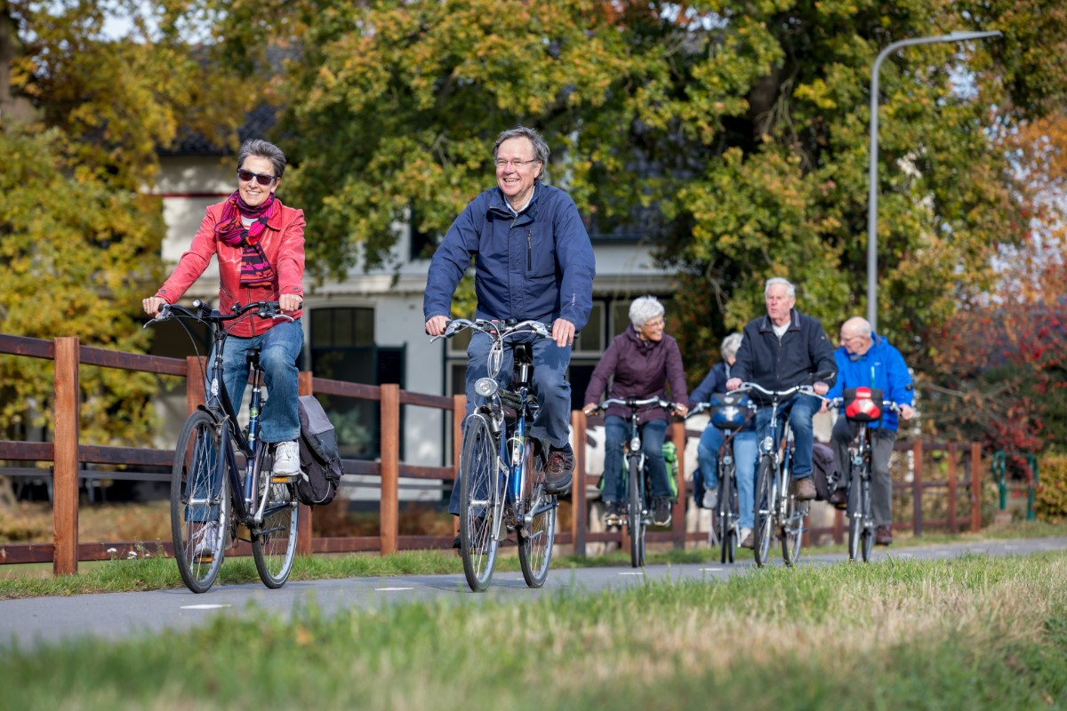 Langer fietsen door project 'Doortrappen'