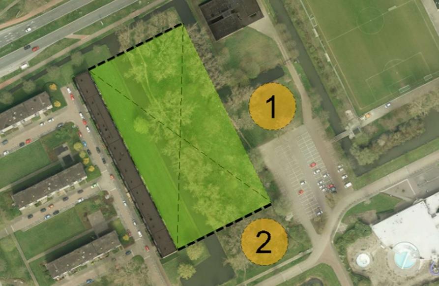 Sportlaan definitieve locatie voor een sportzaal