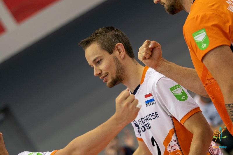 Tom Poortman actief op EK Zitvolleybal in Boedapest