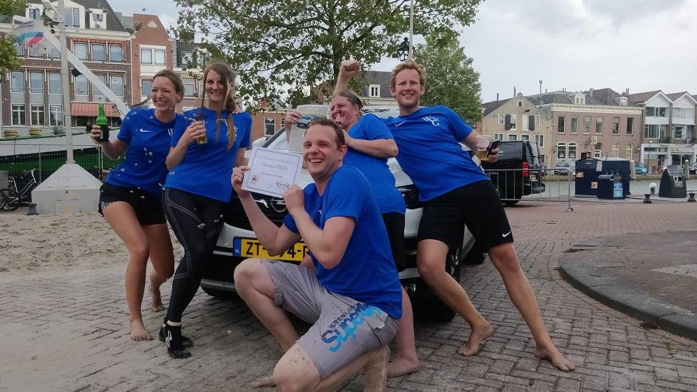 Team 'Wil de Groot 2' wint 17e Open Beachvolleybaltoernooi