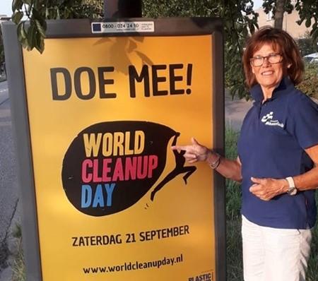 Buurtpreventie ruimt op tijdens World Cleanup Day