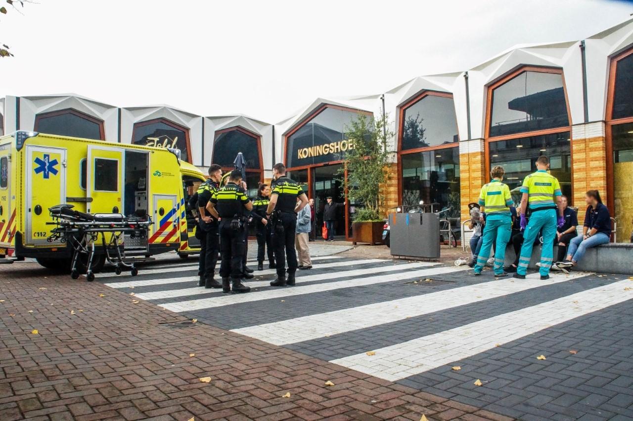 Action ontruimd na gezondheidsklachten personeel