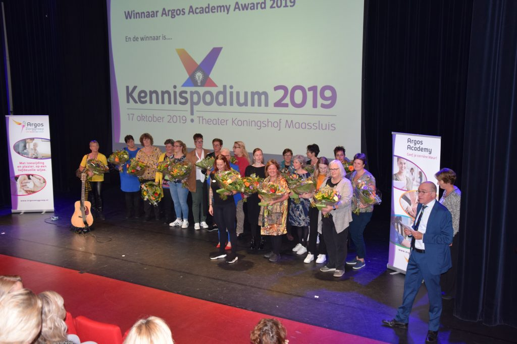 'Handsome' wint Kennispodium 2019!