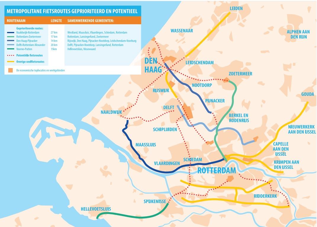 Opknapbeurt voor fietsroute Naaldwijk-Rotterdam