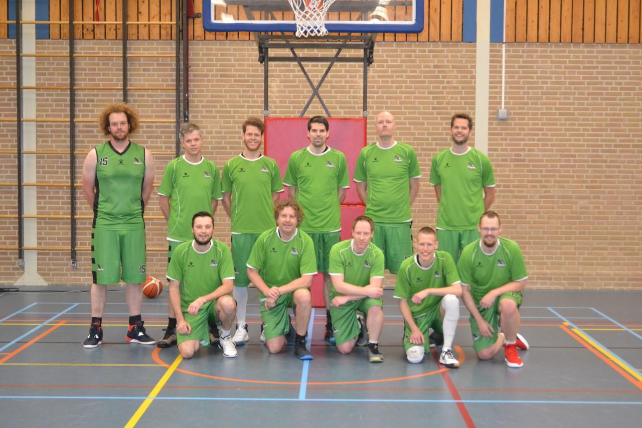 Green Eagles Heren 1 herstelt zich van nederlaag