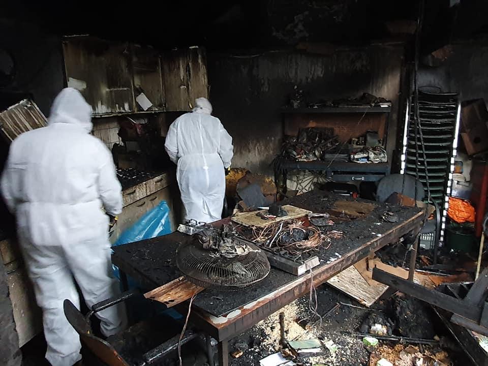 Oplichter actief na brand Dierenhoek 't Sparretje