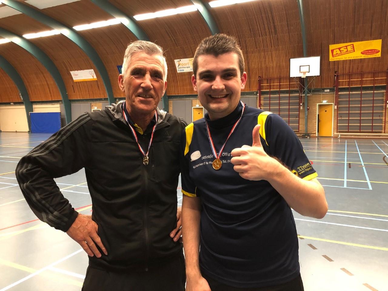 Dennis Breevaart pakt opnieuw clubtitel tafeltennisvereniging TOG