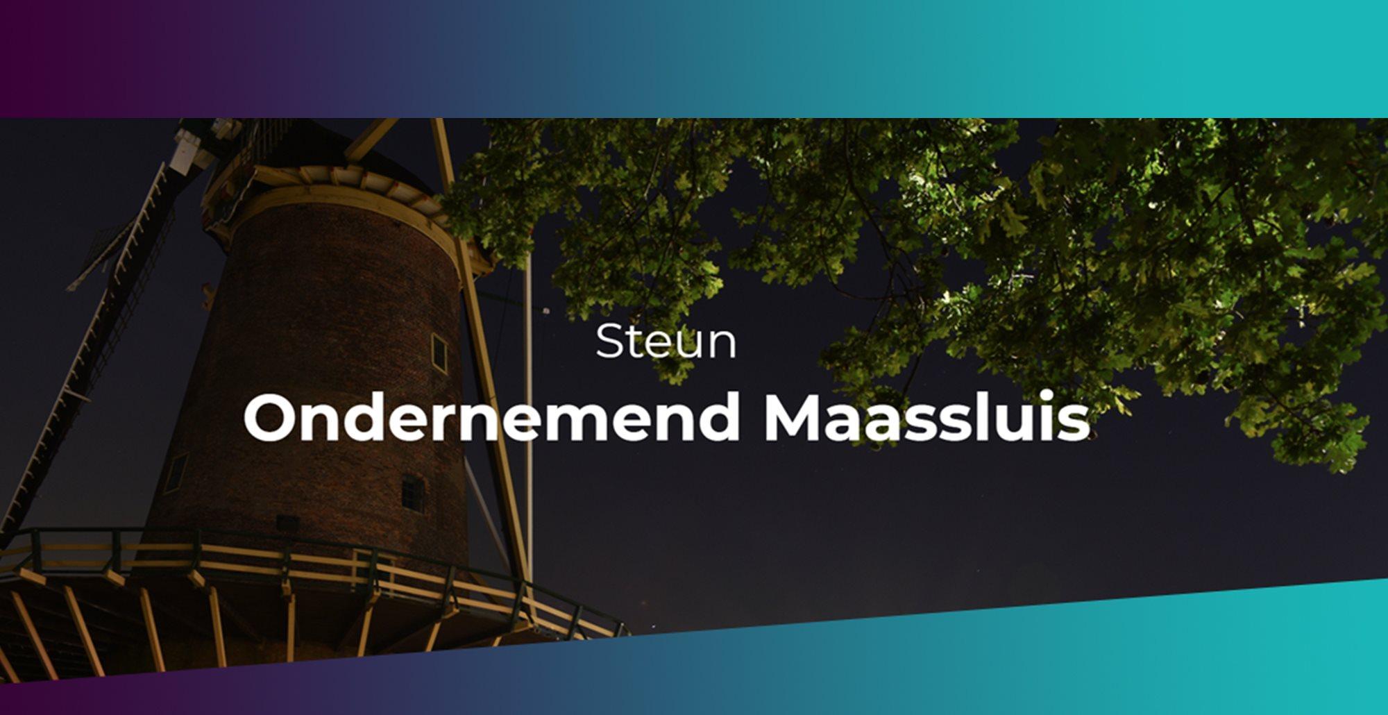 Help lokale ondernemers via 'Steun Maassluis'