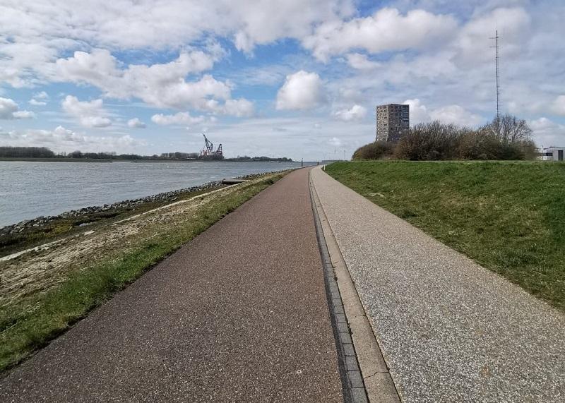 Fietspad langs Waterweg ook in weekeind open