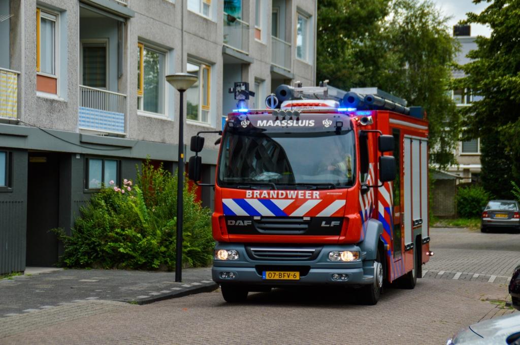 Woningbrand of aangebrand in de Jongkindstraat?