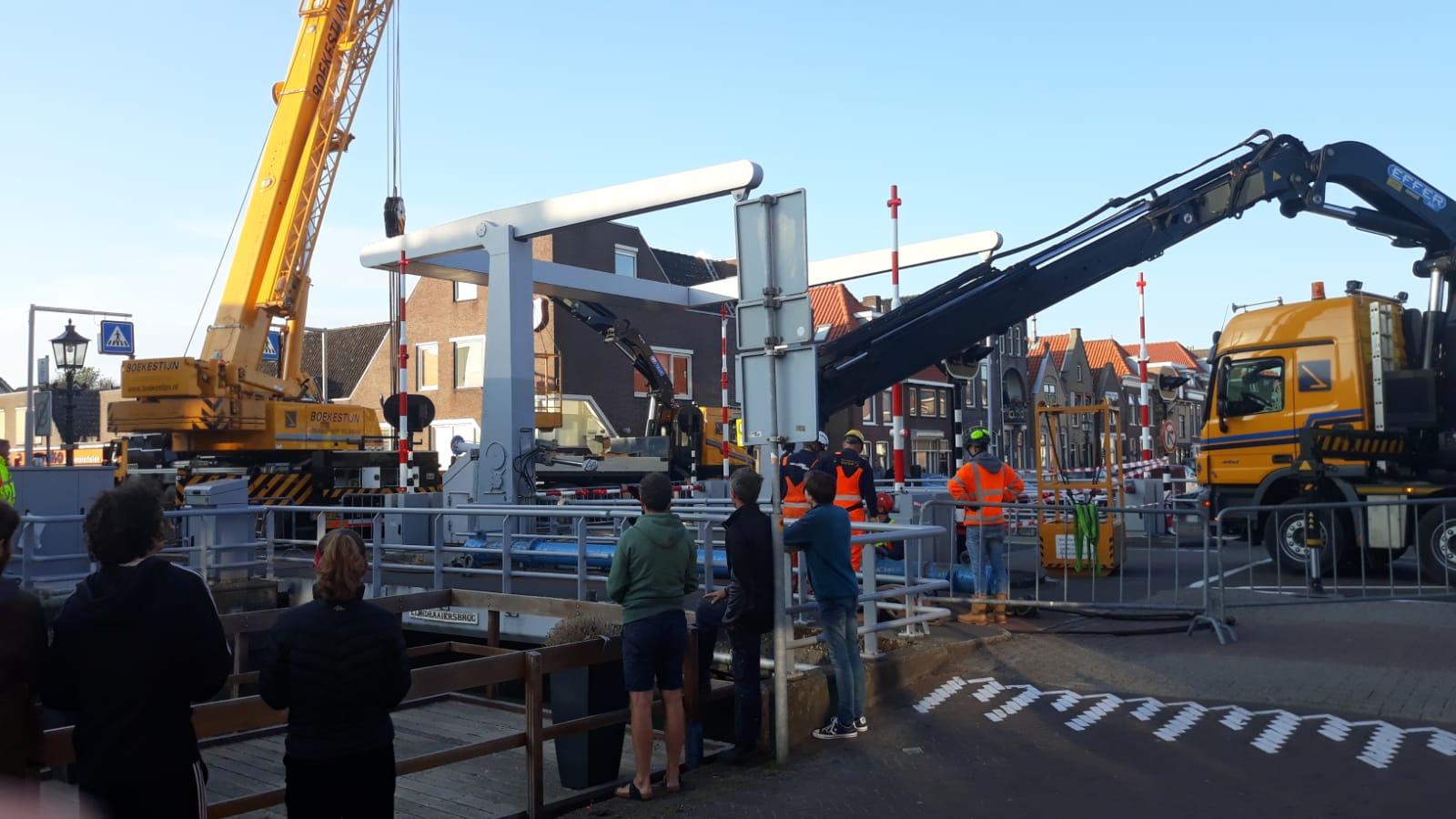 Onderhoud aan Lijndraaiersbrug op 1 juli