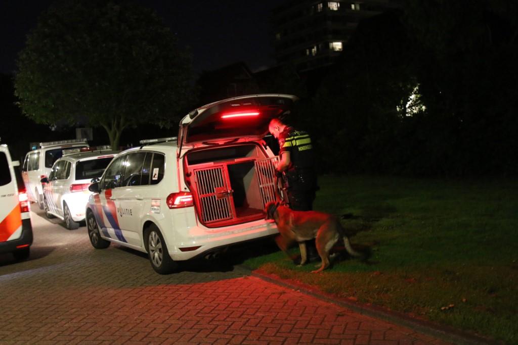 Grote politie-inzet na melding steekpartij