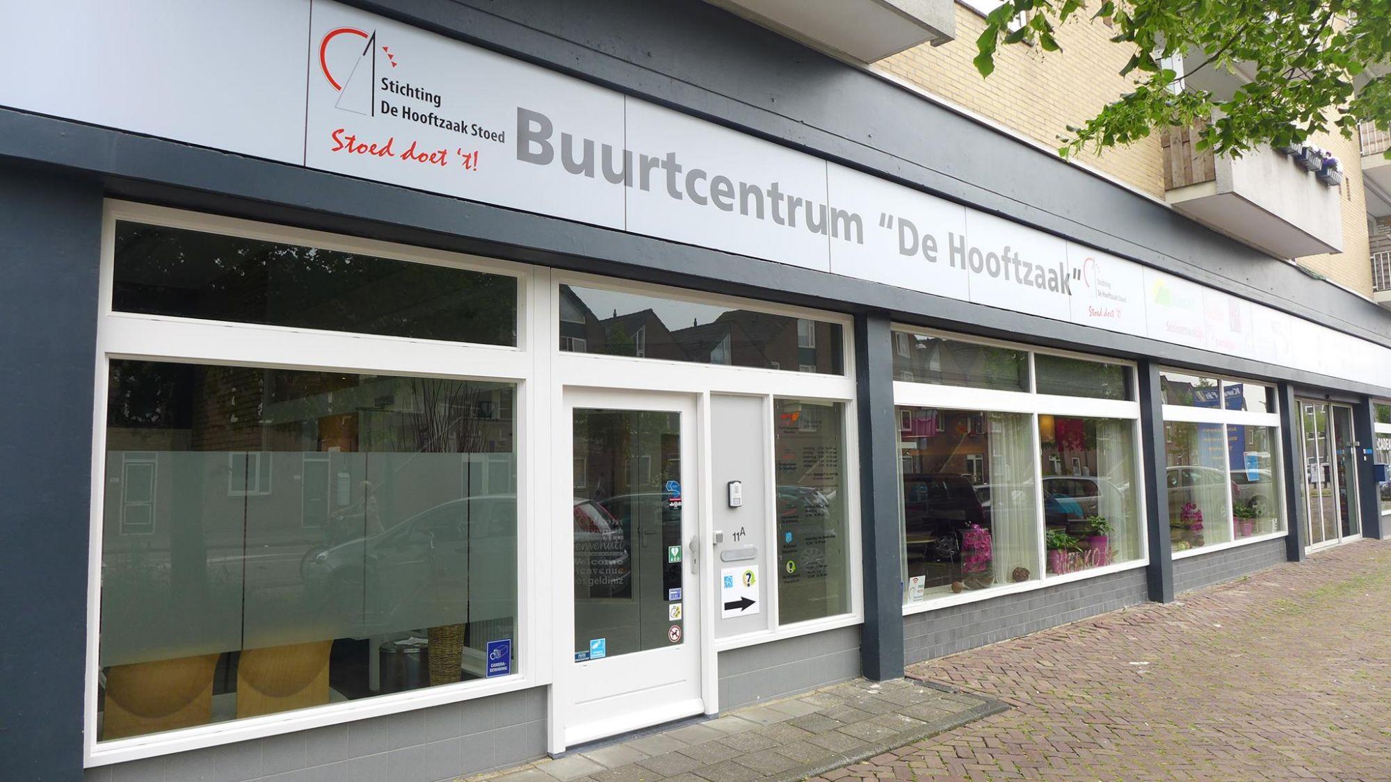 Buurtcentrum De Hooftzaak weer open