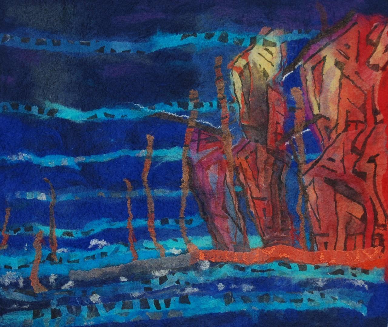 'De mens en zijn lading' in het Douanehuisje