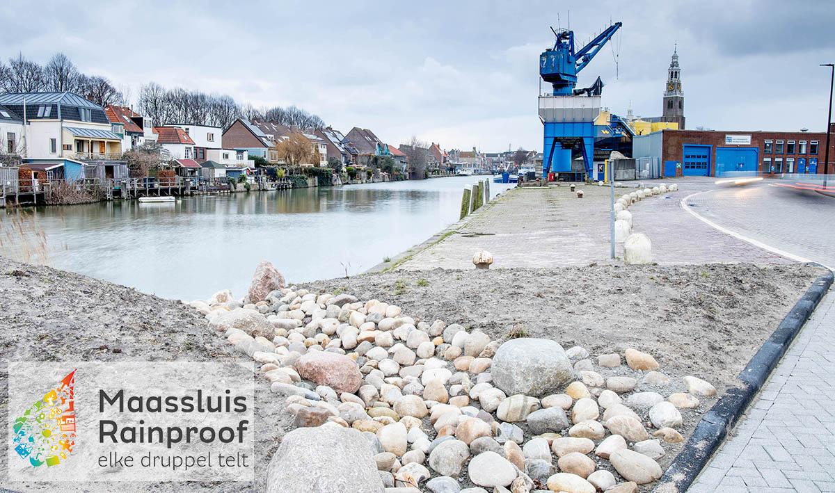 Regenbestendige maatregelen in omgeving Nijverheidstraat