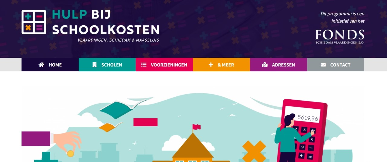 Website biedt hulp bij schoolkosten