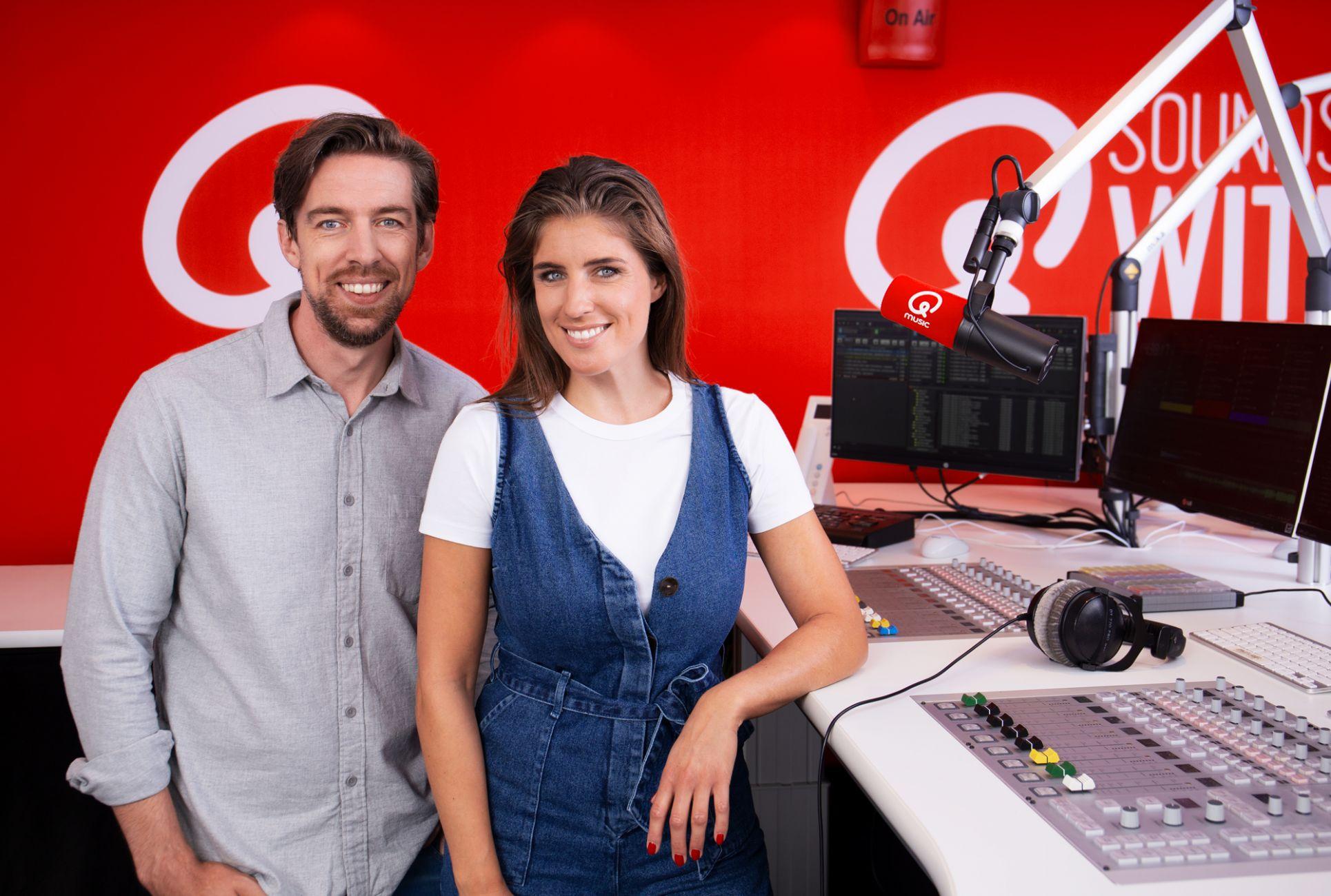 Mattie en Marieke maken radio op bouwplaats in Maassluis