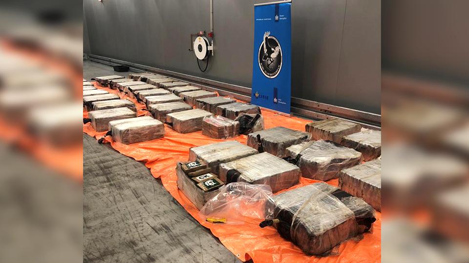 Douane onderschept 2773 kilo drugs in 6 dagen