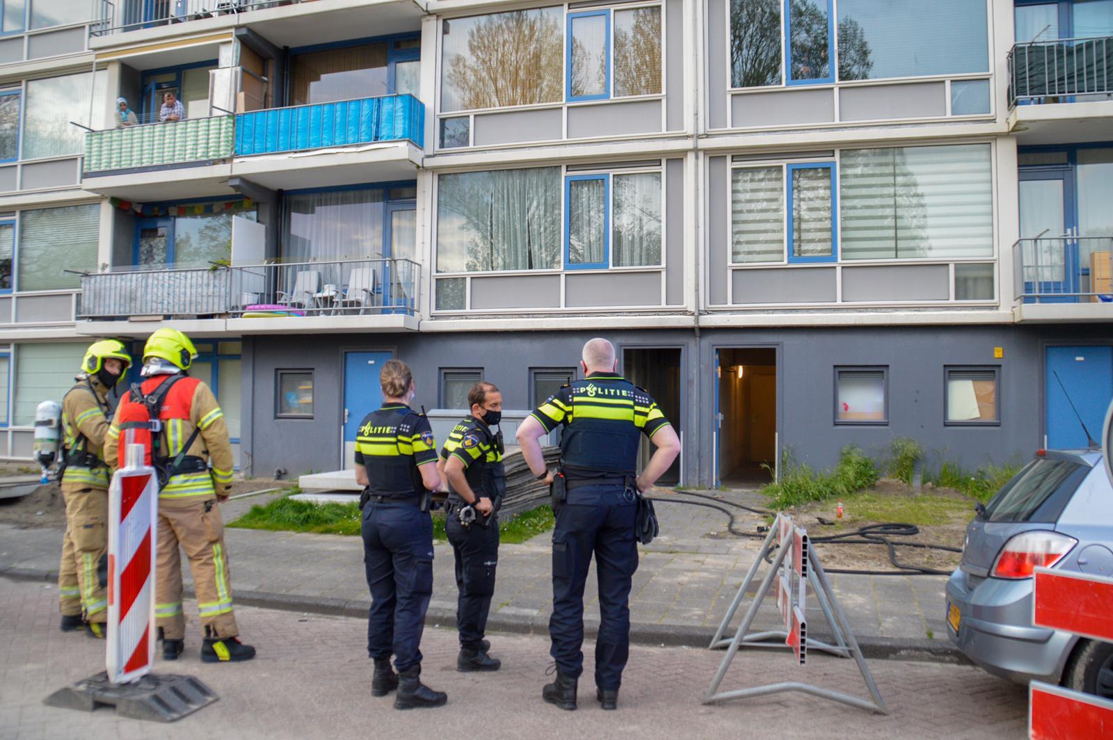 Opnieuw brand in kelderbox aan de Willem Marislaan