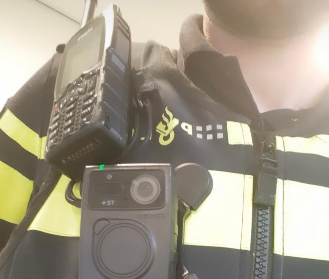Politie Maassluis uitgerust met bodycams