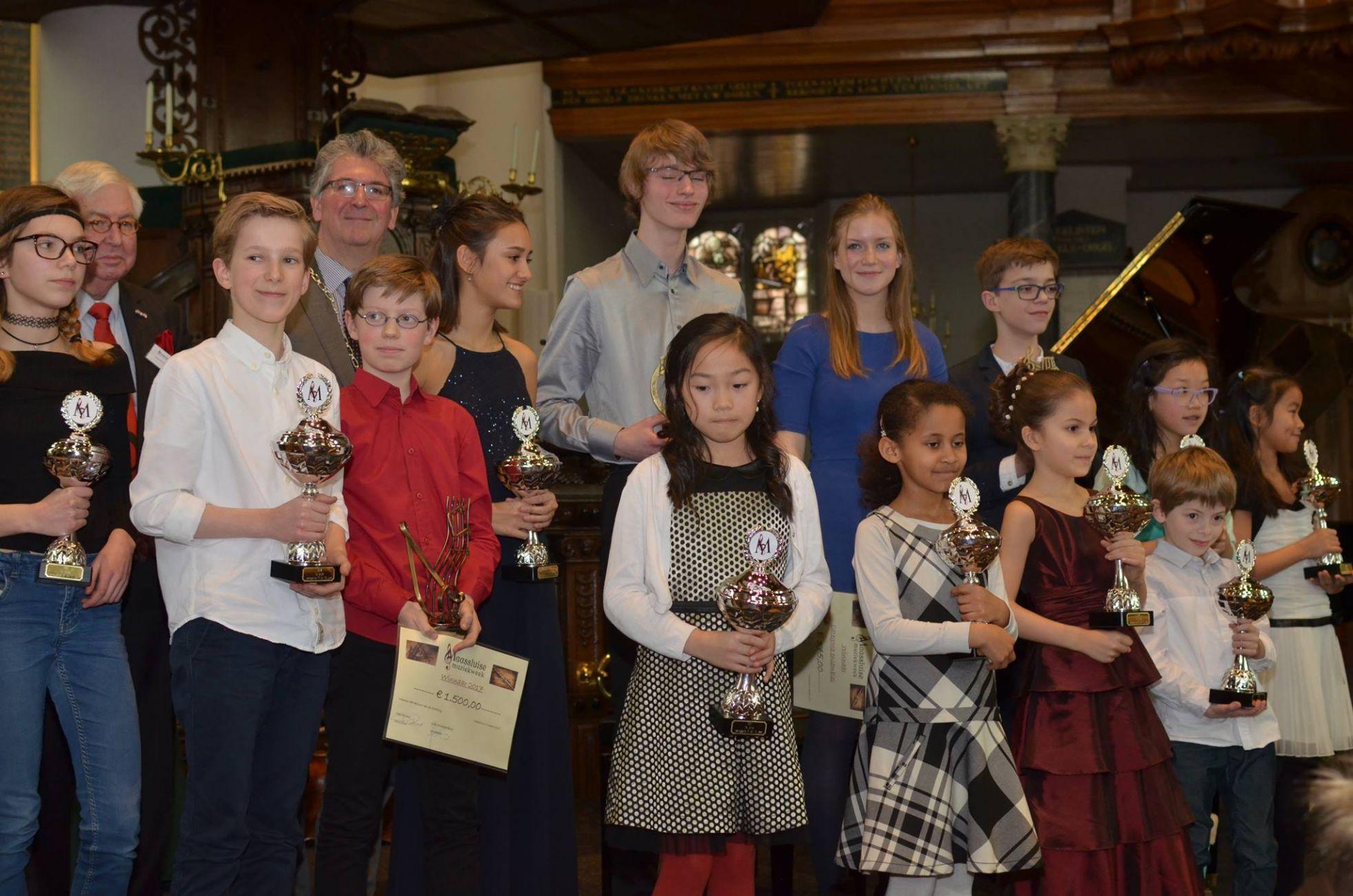 Ruim 100 deelnemers 59e editie Maassluise Muziekweek