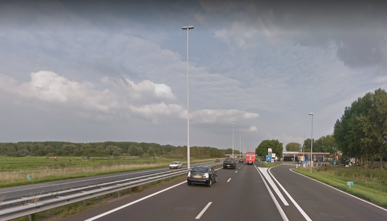 A20 dicht in tweede weekend november