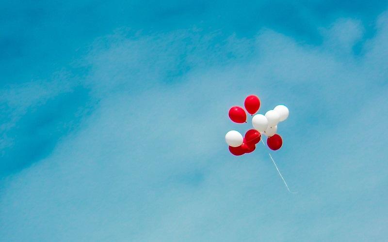 Geen ballon meer de lucht in vanaf 1 mei