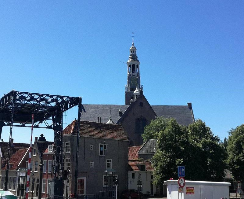 Beklim de toren van de Groote Kerk