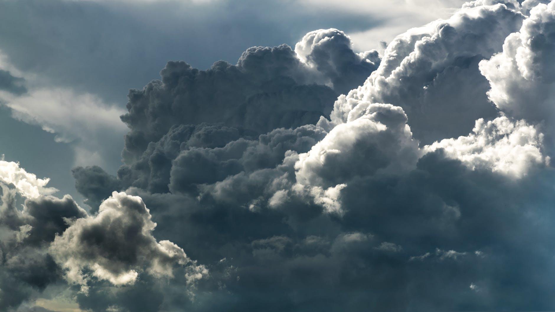 Zware storm op komst