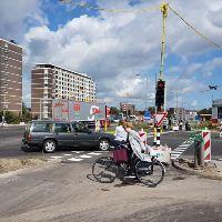 Waarom zijn fietsers en voetganger vergeten op Vijfsluizen?