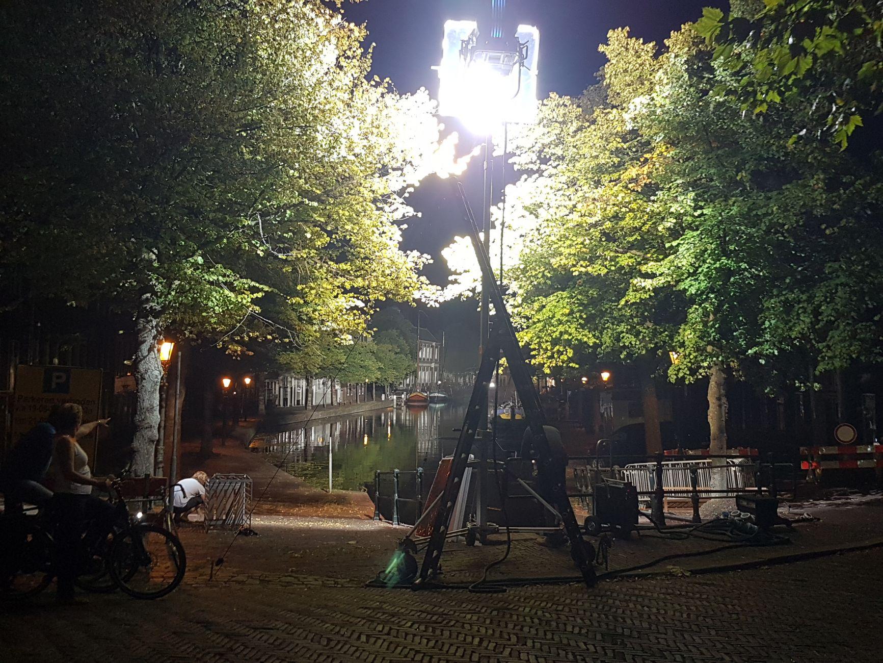 Schiedam-Centrum wacht op Lyrebird