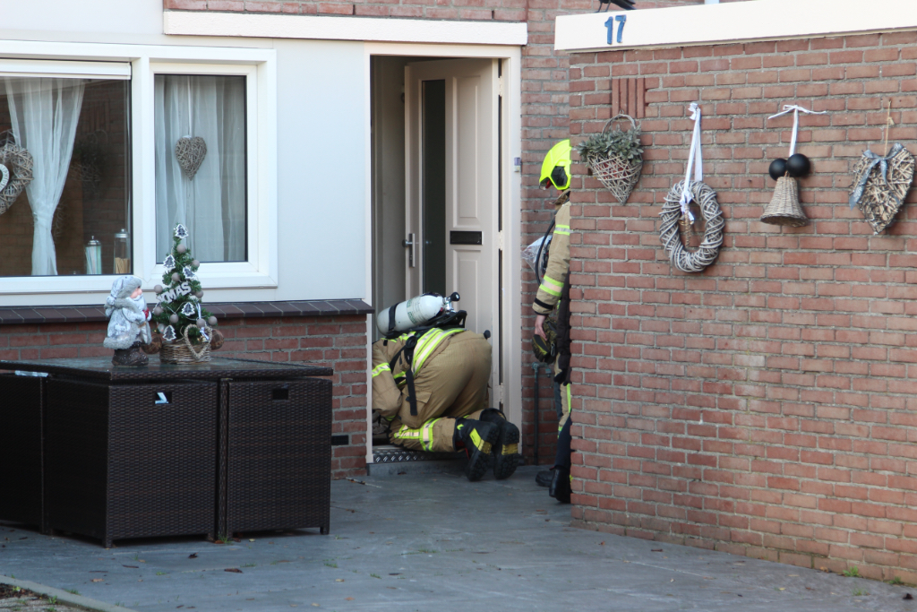 Woningen ontruimd na gaslekkage