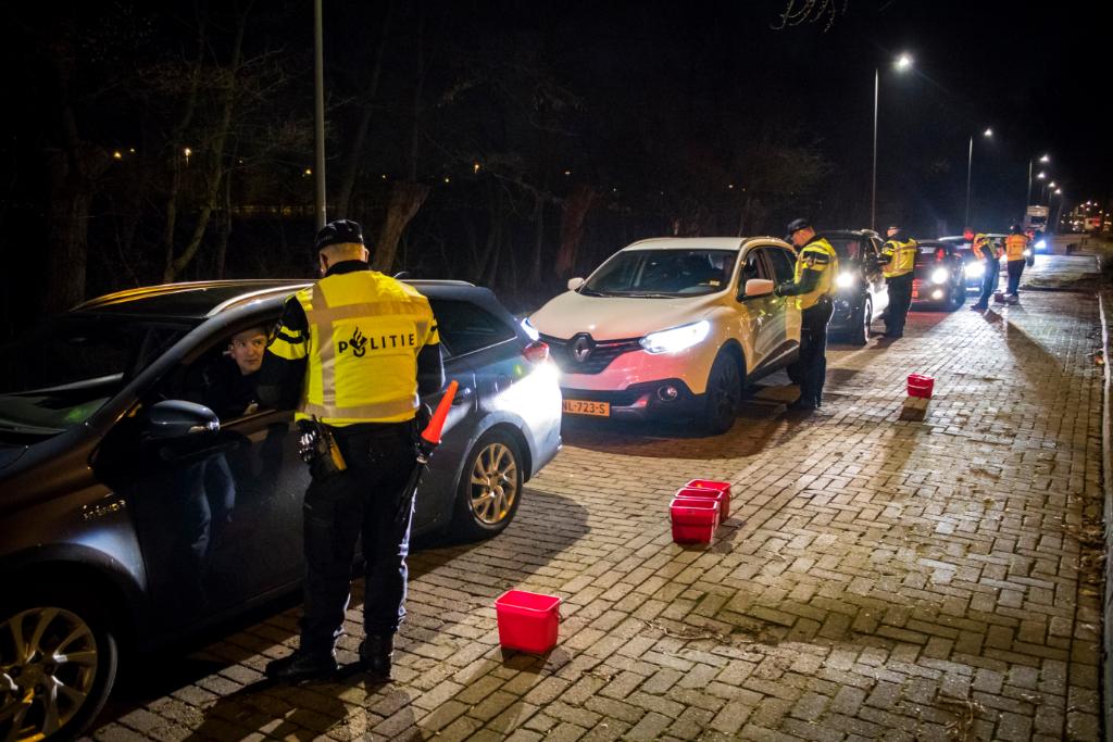 Controle op alcohol en voertuig