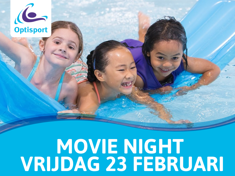 Movie Night in zwembad Groenoord