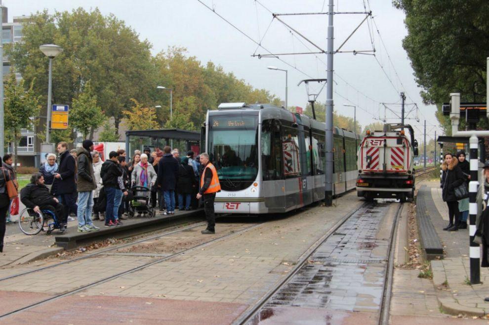 Tram 24 gestremd
