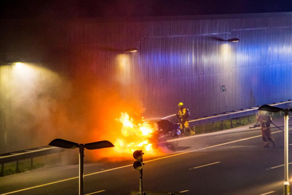 Oponthoud na autobrand