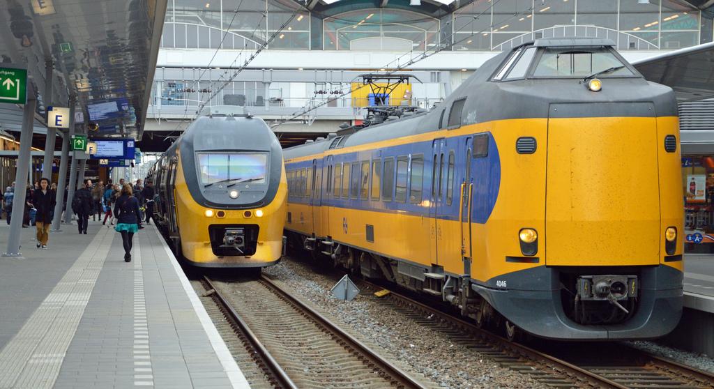 Treinen rijden weer