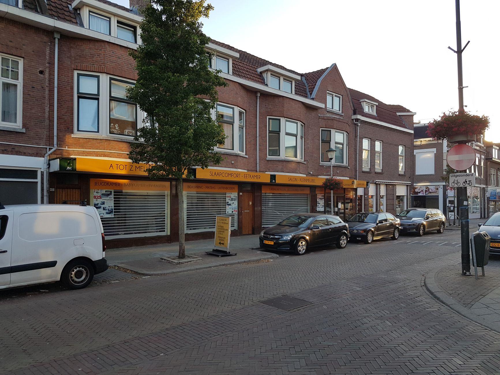Condor in Groenelaan failliet