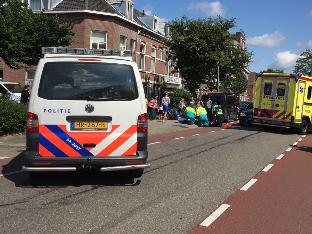 Kind aangereden in Nieuwe Maasstraat