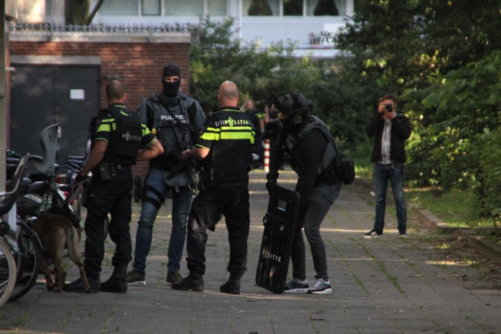 Vier jongemannen opgepakt na schietpartij