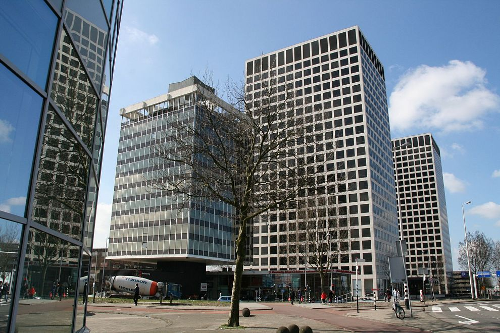 Europoint II en III worden Lee Towers