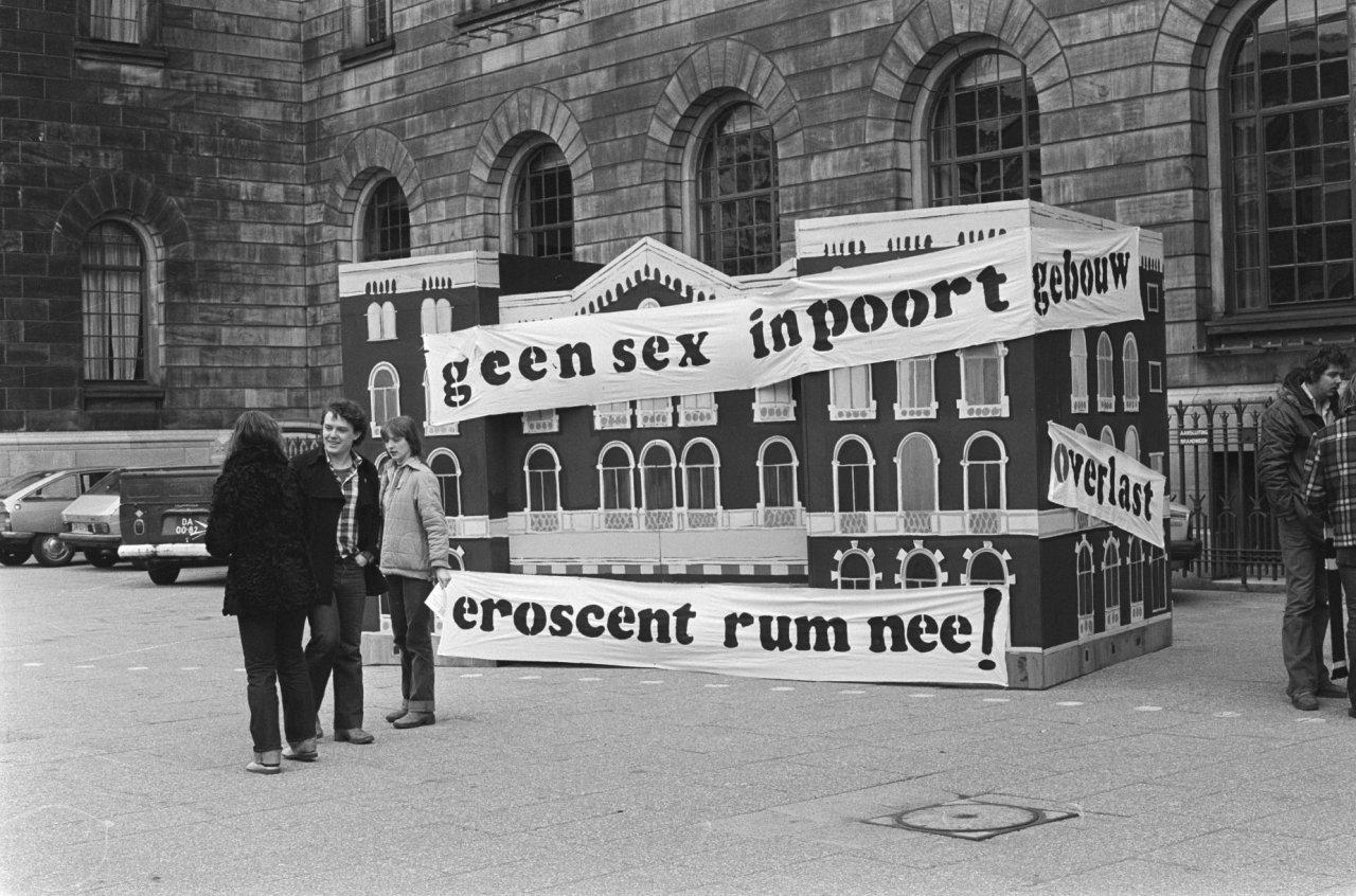 Opstand tegen komst van Eroscentrum