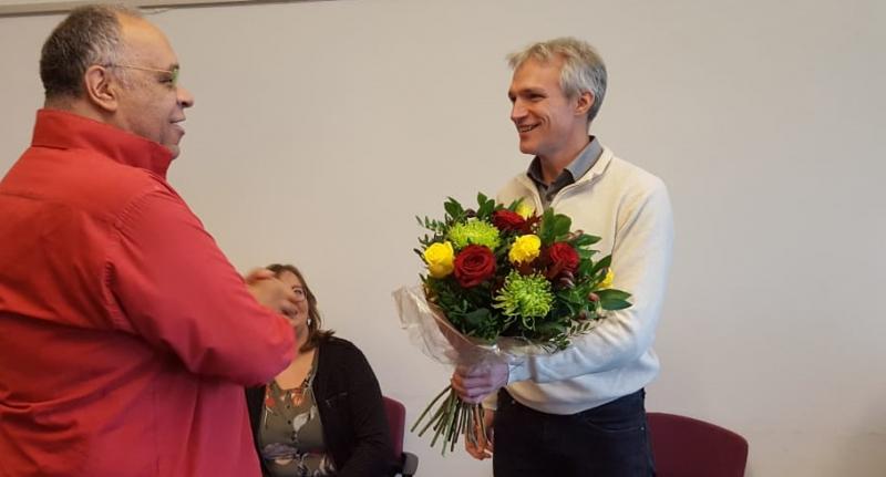 Berend Potjer lijsttrekker Groen Links Zuid-Holland