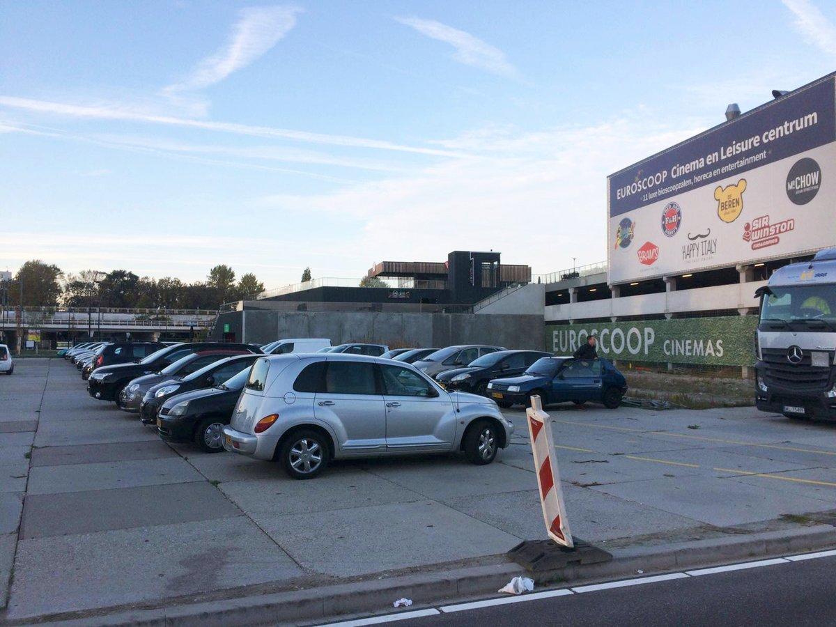 Optreden tegen foutparkeren bij Euroscoop